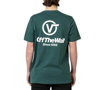 CIRCLE V OFF THE WALL SHORT SLEEVE TEE TREKKING GREEN