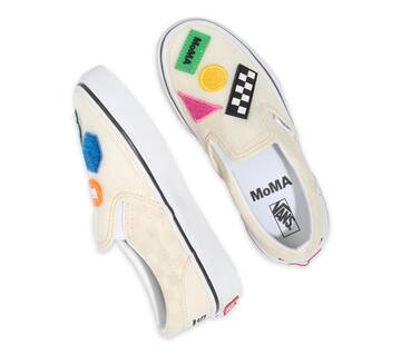 KIDS VANS MoMA MULTI SLIP-ON SHAPES