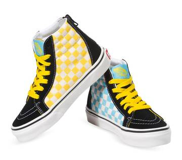 The Simpsons x Vans Toddler Sk8-Hi Zip 1987-2020