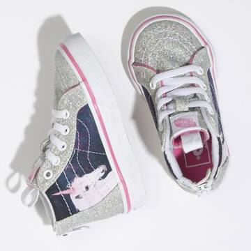 TODDLER SK8-HI ZIP UP DIGI UNICORN