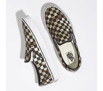 CLASSIC SLIP ON CHECKER CAMO DESERT